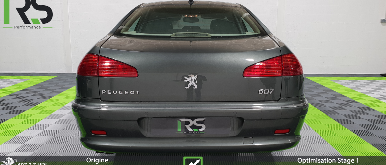 Reprogrammation Peugeot 607 2.7 HDI V6 204ch