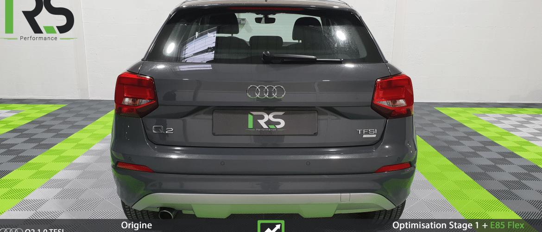 Reprogrammation Stage 1 + Flex Audi Q2 1.0TFSI 115ch