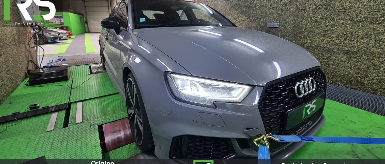 Reprogrammation Audi RS3 2.5 TFSI 400ch