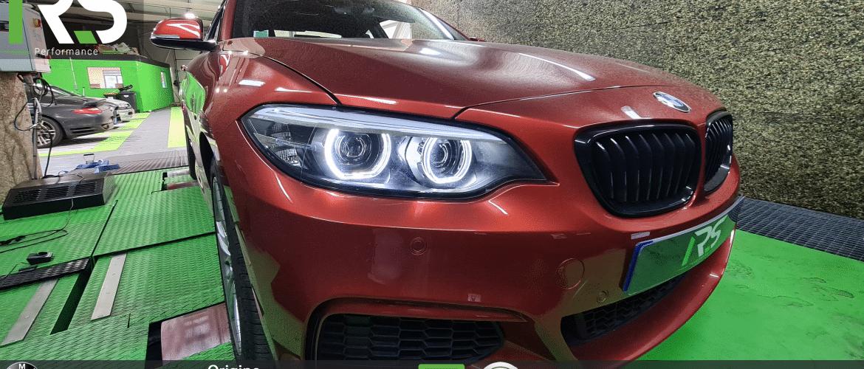 Reprogrammation BMW 218i 136ch